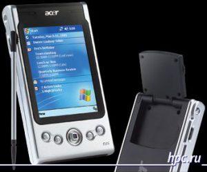 PDA con GPS Acer N35