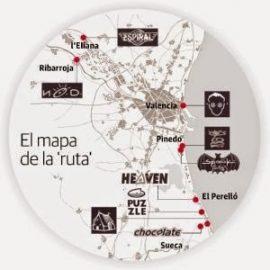 Ruta Destroy. Discotecas de Valencia en los 80 y 90.